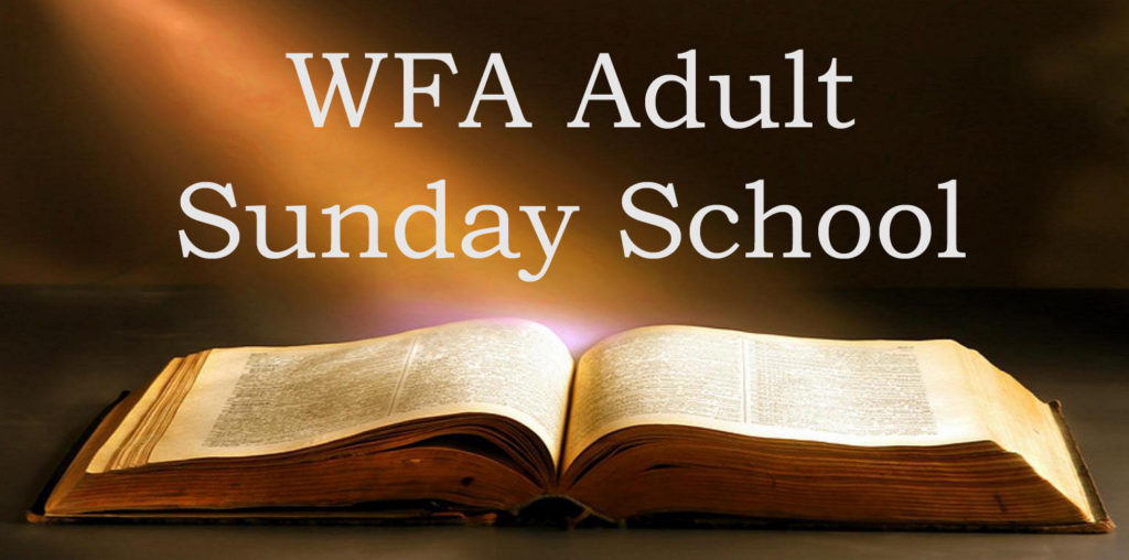 Fall Sunday School