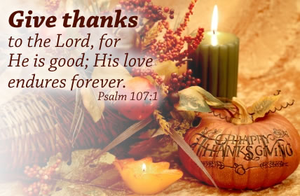 Have A Blessed Thanksgiving!