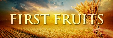First Fruits Conference!