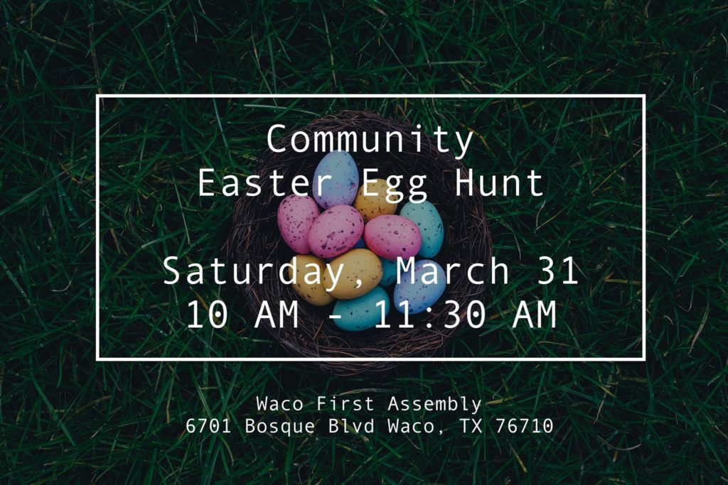 Egg Hunt Tomorrow